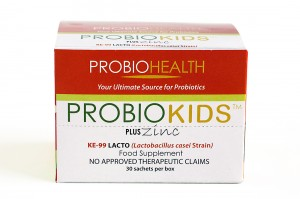 Probiokids with Zinc box