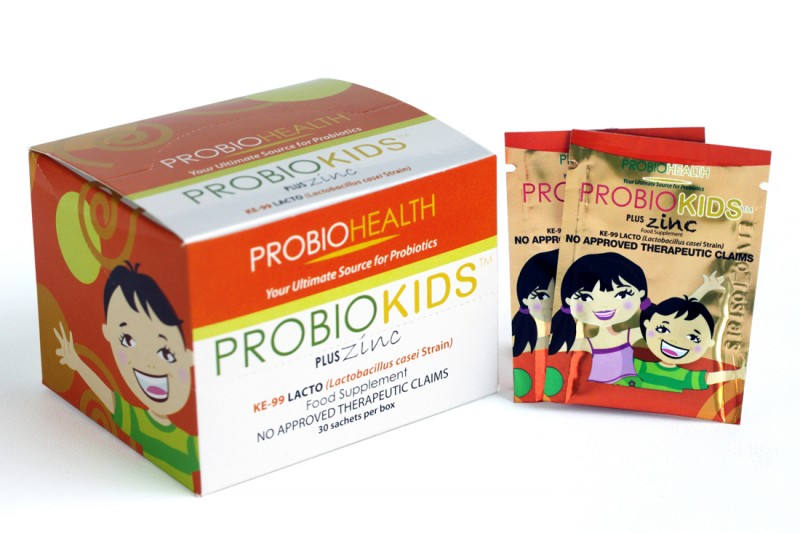 Probiokids with Zinc