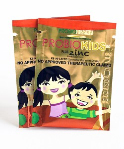 Probiokids with Zinc packets